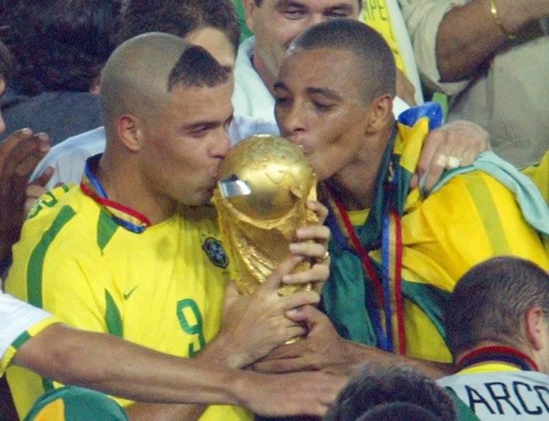 Ronaldo fue la figura de Brasil en el Mundial de Corea y Japón