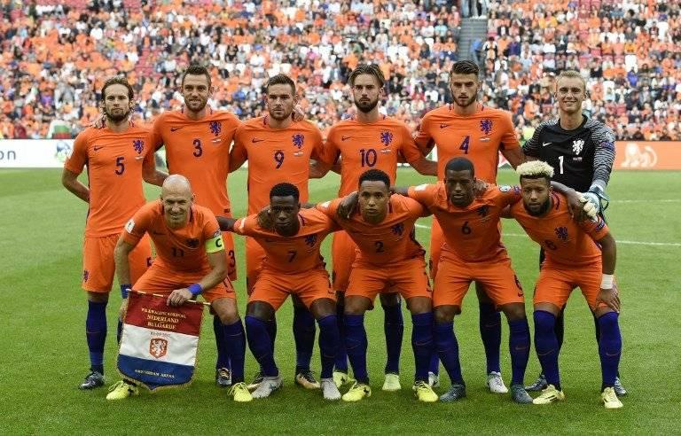 El equipo holandés será ausente en Rusia 2018