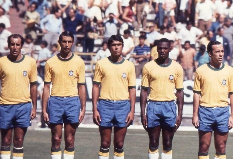Algunos de los integrantes de Brasil en México 1970