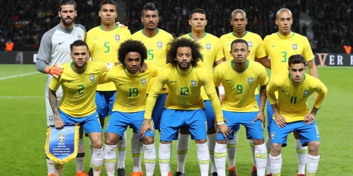 Brasil confirma su convocatoria para el Mundial Rusia 2018