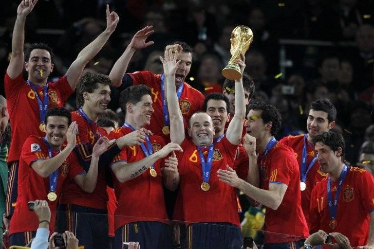 De la mano de Vicente del Bosque, España se coronó en Sudáfrica 2010