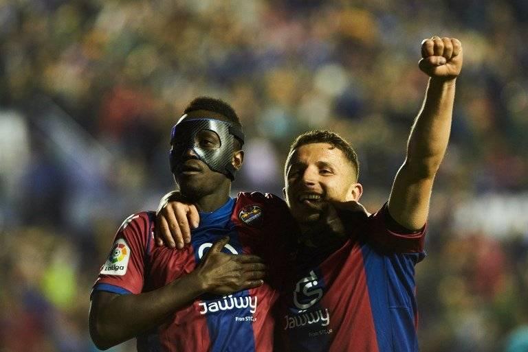 Boateng celebra uno de sus goles