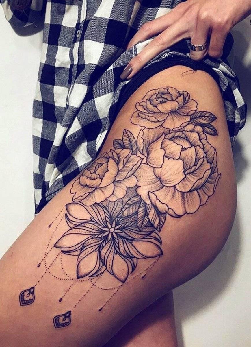 Tatuaje cadera
