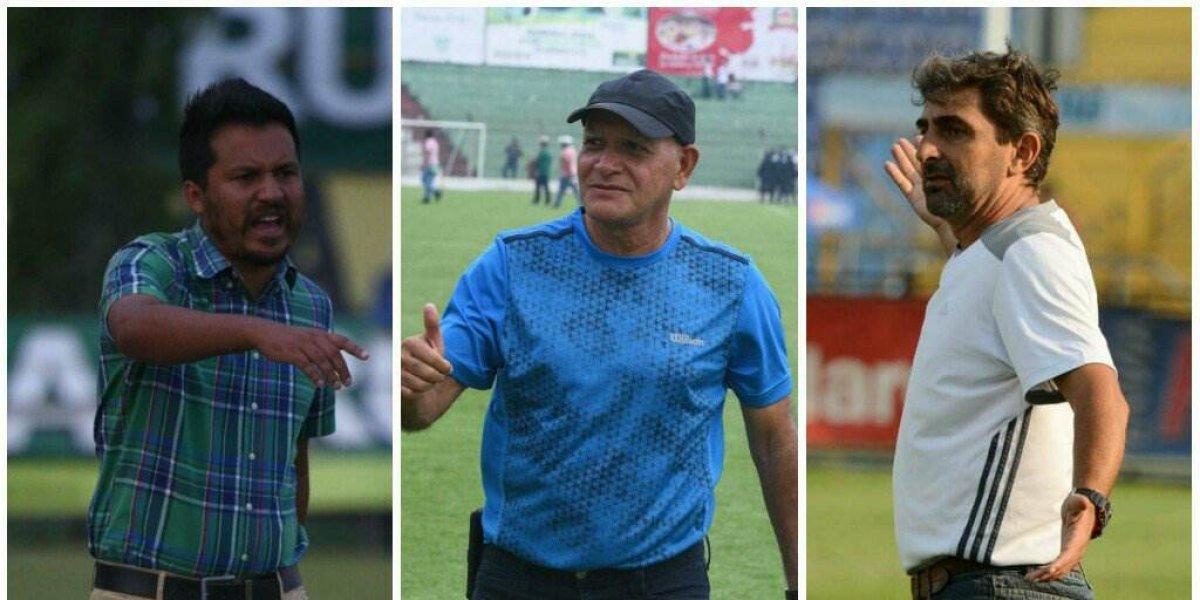 Técnicos chapines mandan en la Liga Nacional