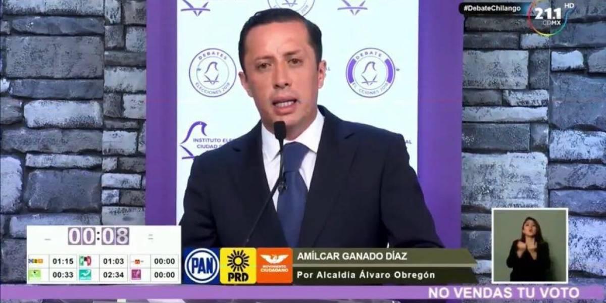 Propone Amilcar Ganado rescatar áreas verdes en Álvaro Obregón