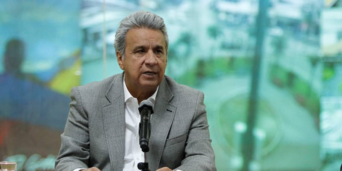 El presidente Lenín Moreno busca cambiar su gabinete ante su segundo año de Gobierno