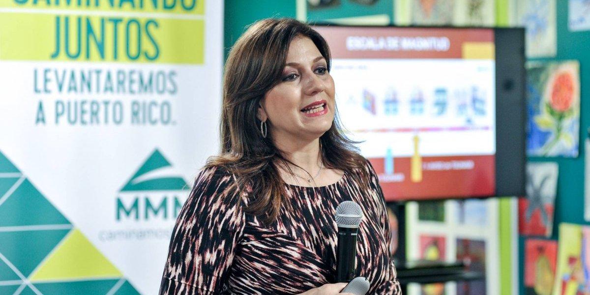 Ada Monzón orienta sobre la preparación en caso de terremotos
