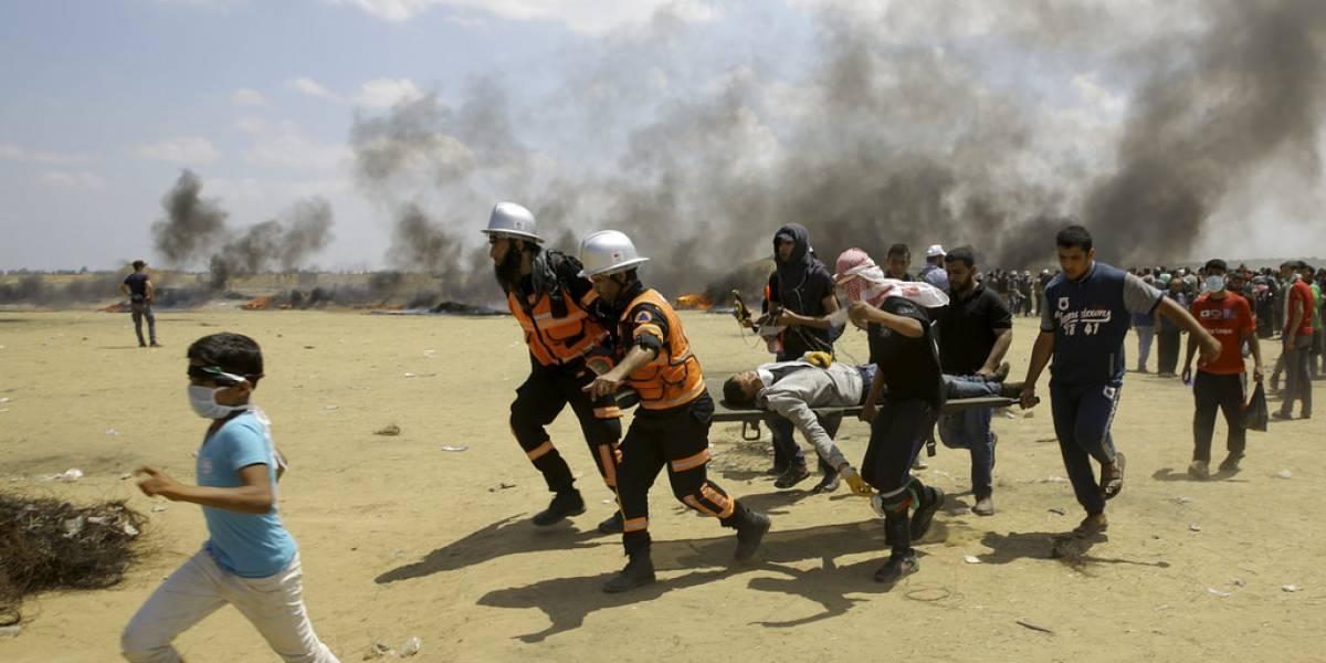 Al menos 52 palestinos muertos y más de 500 heridos tras protestas masivas en Gaza antes de apertura de embajada de EEUU en Jerusalén