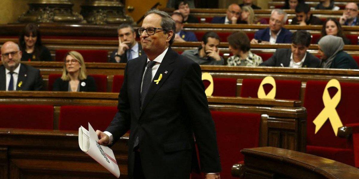 Quim Torra, elegido nuevo presidente de Cataluña