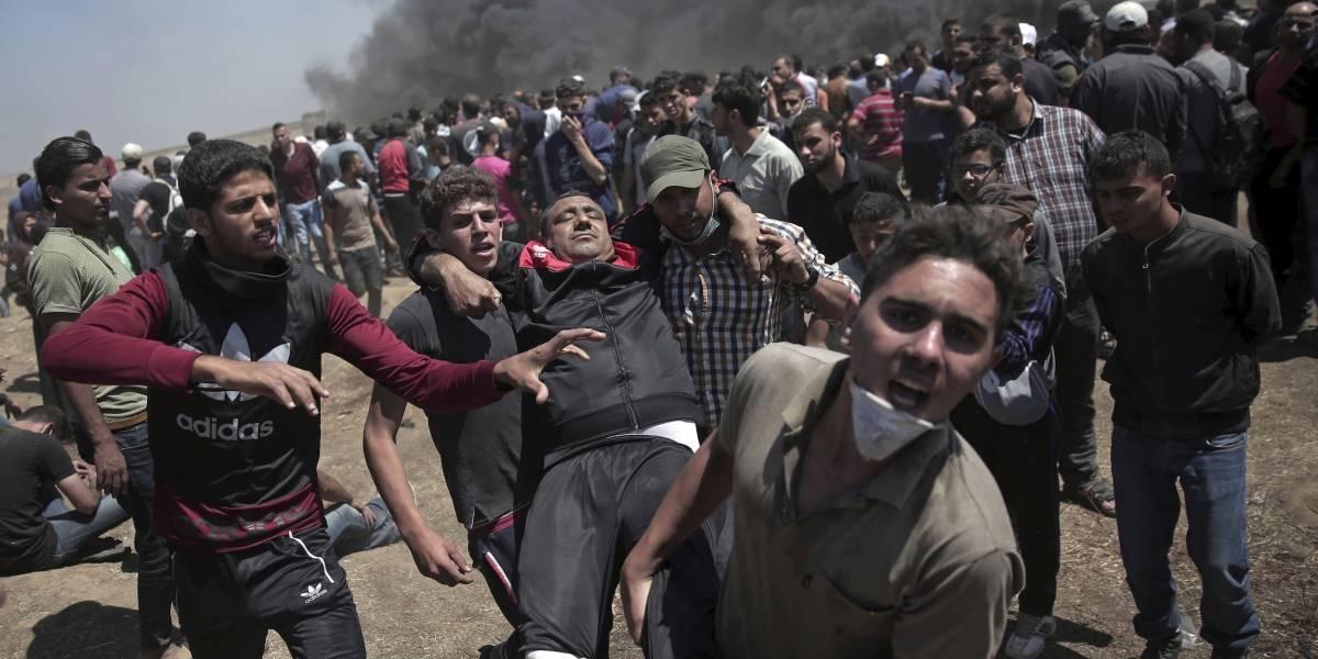 Protestas en Gaza por apertura de embajada EE.UU. en Jerusalén