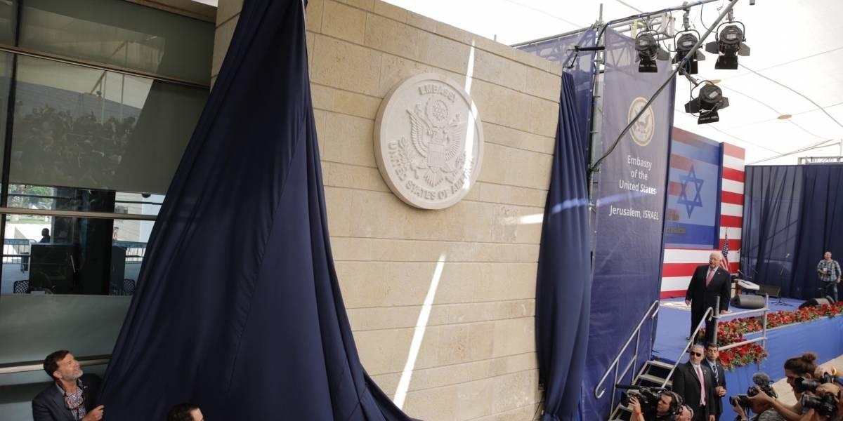 Trump celebra embajada estadounidense en Jerusalén
