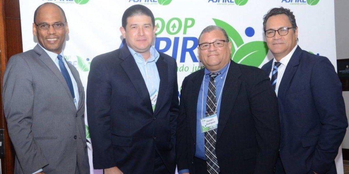 #TeVimosEn: Coop ASPIRE ofrece cóctel y entrega reconocimientos a ejecutivos