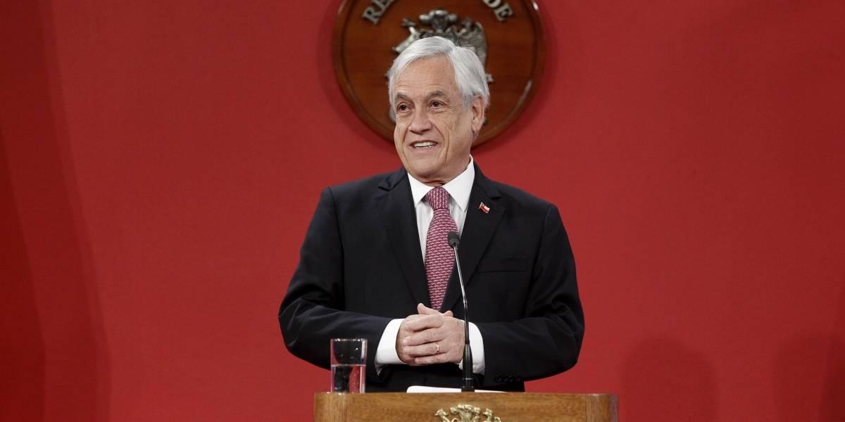 "Piñera por viaje de Larraín: ""Hemos visto revivir un clima de crispación"""