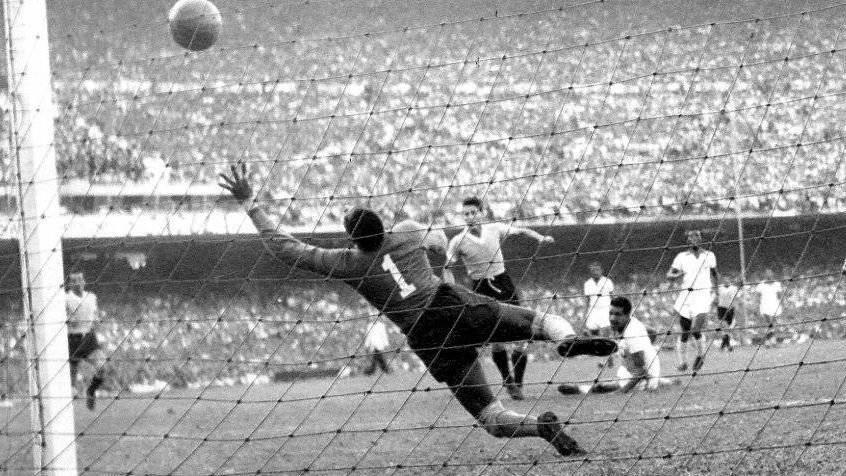 """La final de Brasil 1950 es conocida como """"el Maracanazo"""""""