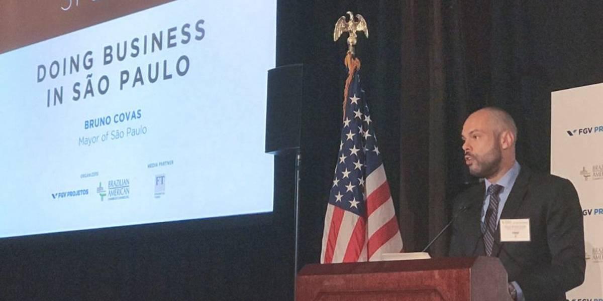 Covas se encontra com investidores em NY para vender programa de privatizações