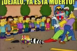 Los crueles memes tras el término del invicto del Barcelona