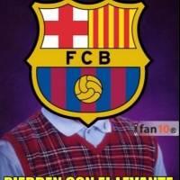 El Barcelona sufrió una dura derrota contra el Levante