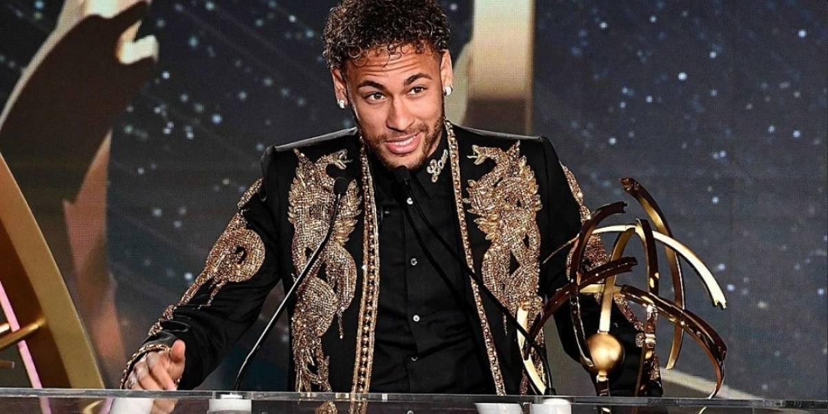 19 goles le bastaron a Neymar para ser elegido como mejor jugador del fútbol francés