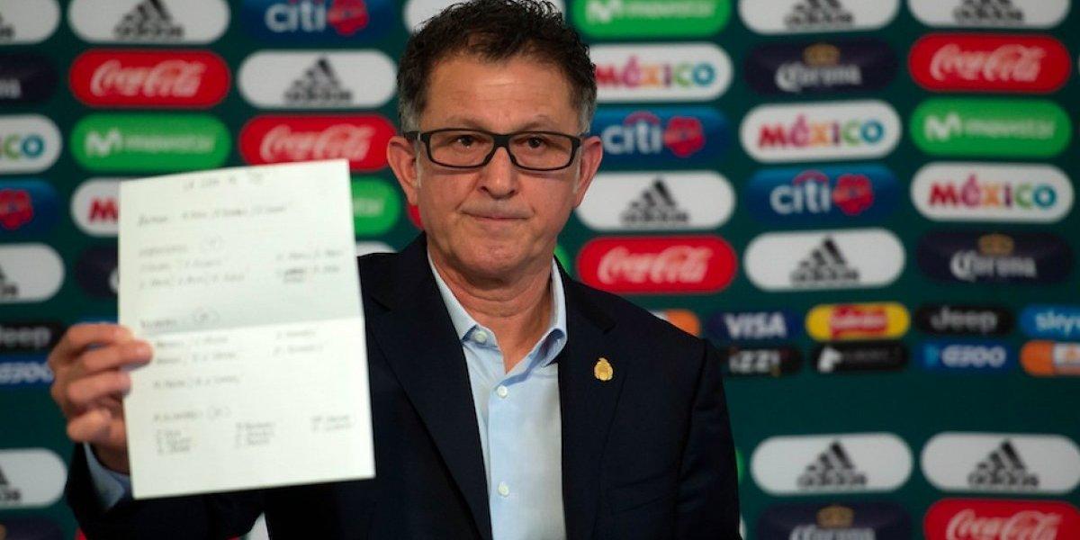 Juan Carlos Osorio anuncia lista de México para el Mundial