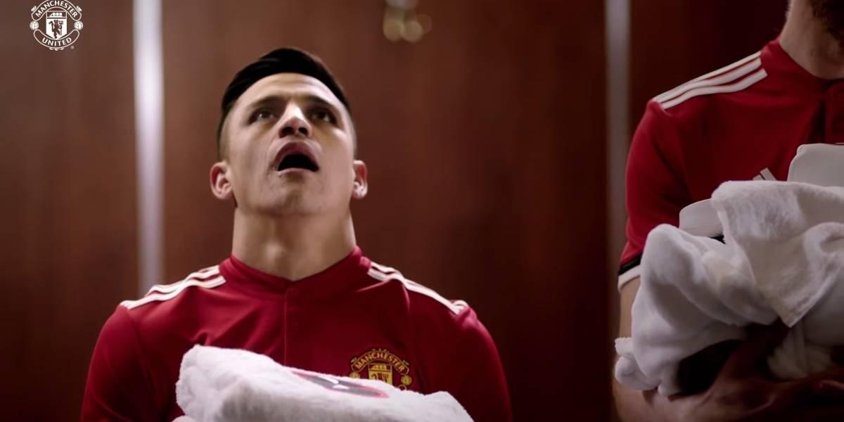 """""""Deadpool 2"""": Alexis Sánchez y el Manchester United se toman divertida nueva promoción"""