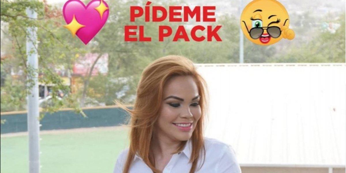 Candidata en México ofrece su