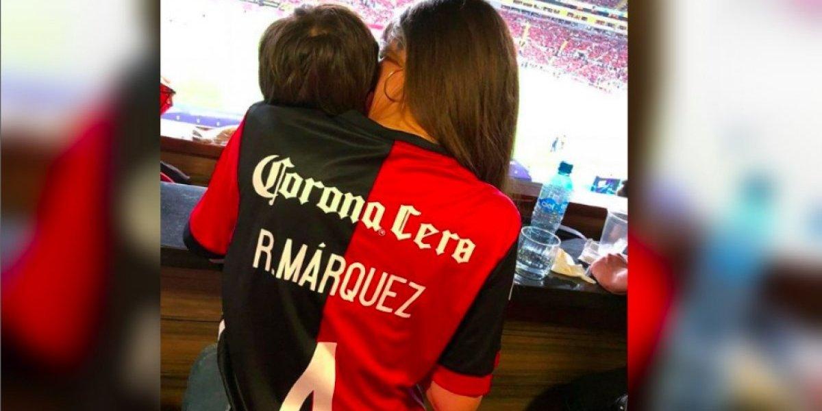 Así celebró Jaydy la convocatoria de Rafael Márquez para el Mundial