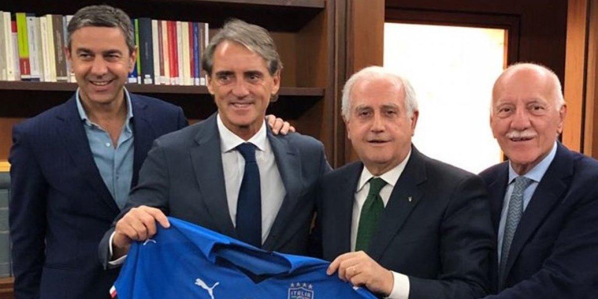 Confirmado: Roberto Mancini es el nuevo entrenador de Italia