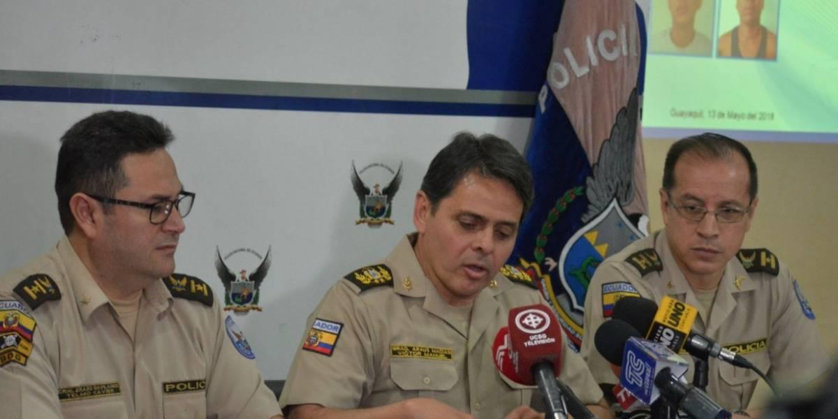 Guayaquil: Policía informó sobre detención de tres sospechosos por asesinato del marino