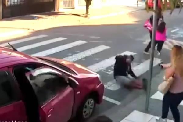 Mujer Polcía mata a ladrón en su día libre