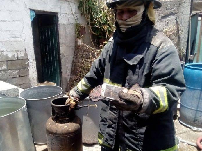 Un celular provocó terrible incendio en alguna vivienda de México(pais)