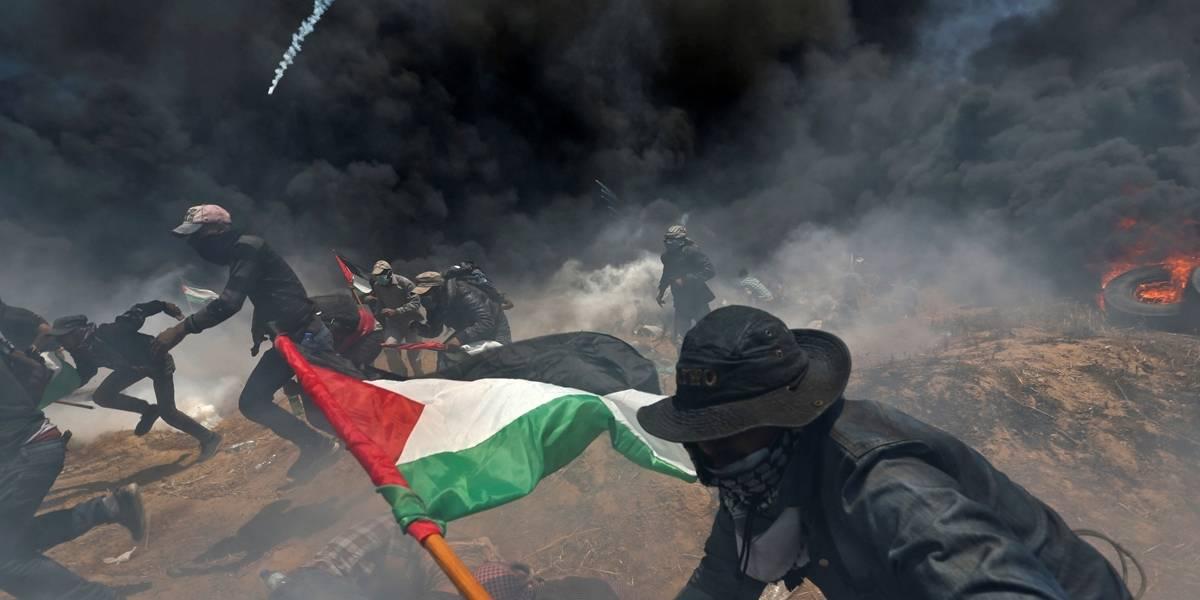 Forças israelenses matam dezenas em protestos em Gaza contra transferência da embaixada dos EUA