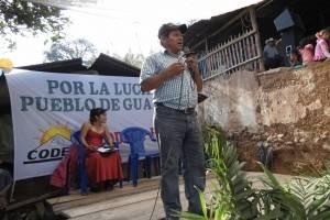 Luis Marroquín asesinado