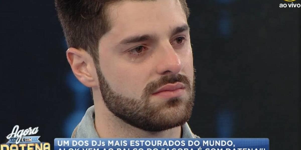O sentimento de pai permanece, diz Alok ao chorar perda do primeiro filho
