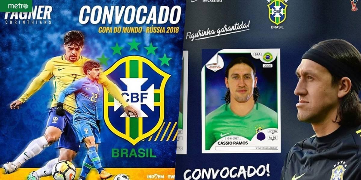 Cássio e Fagner, do Corinthians, agradecem chance de conquistar o hexa na Copa