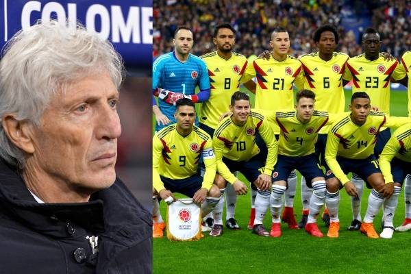 Lista de 23 convocados de Colombia para el Mundial