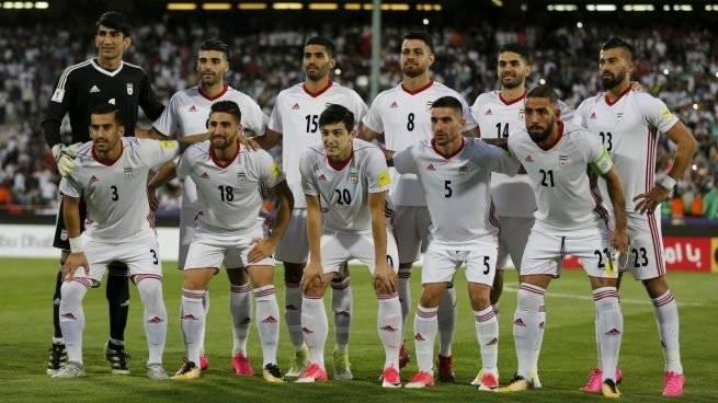La selección iraní posa para la foto