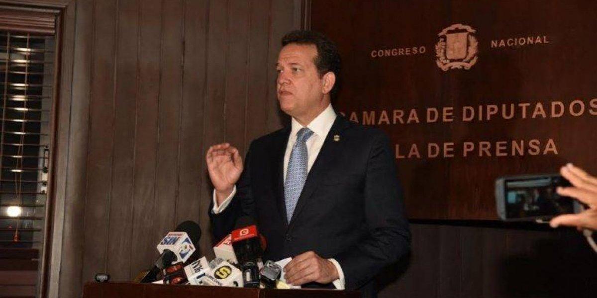 Diputado Bisonó somete dos modificaciones al proyecto de Ley de Partidos