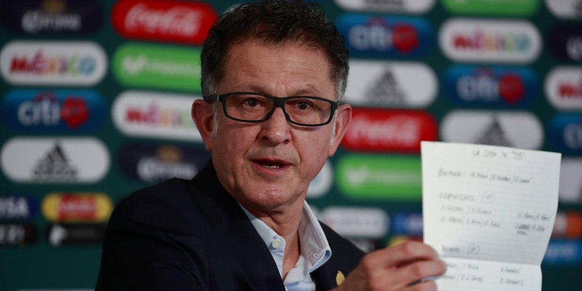 La polémica lista de México que reveló Osorio para Rusia 2018