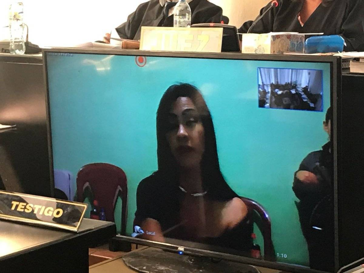 La Patrona declara por videoconferencia