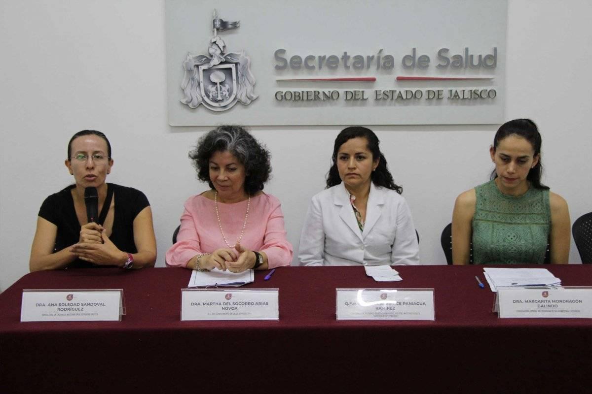 Lanzan campaña para promover la donación de leche materna en Jalisco