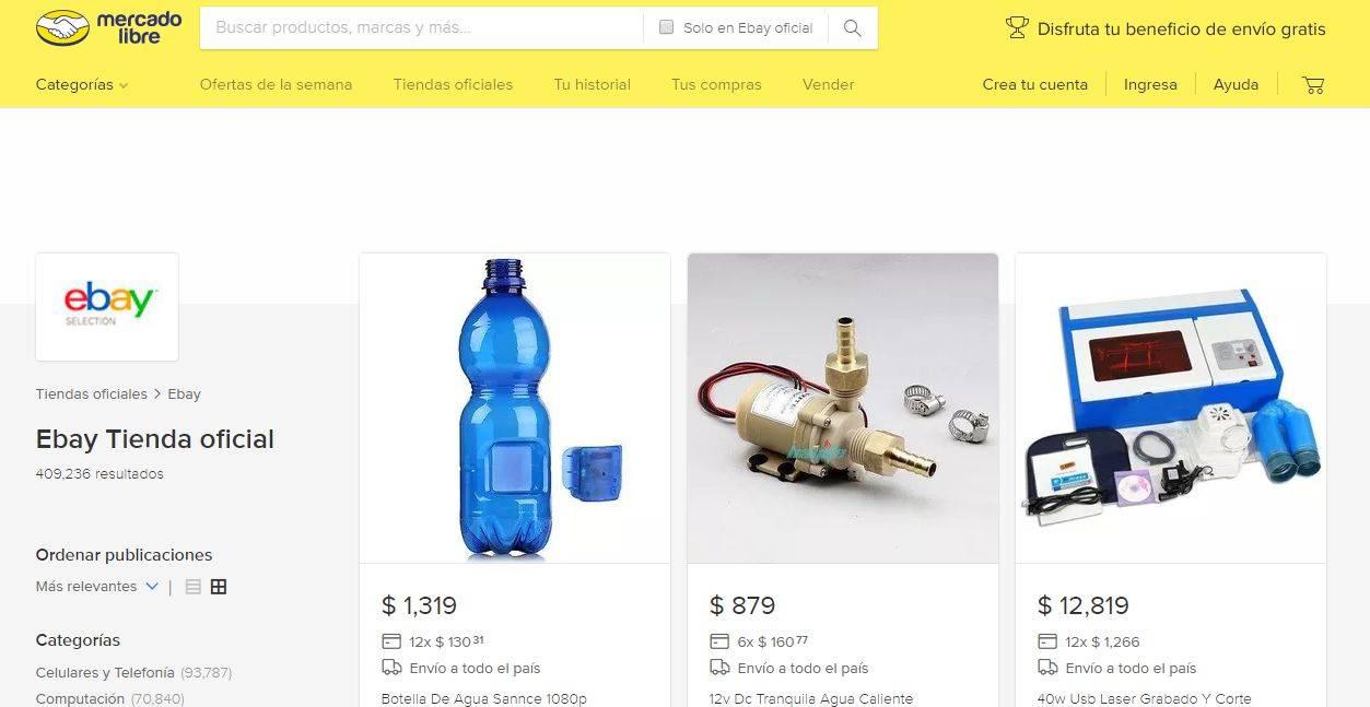 Mercado Libre eBay