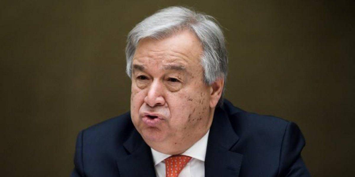 ONU expresa condolencias a Guatemala tras erupción y asegura que el organismo está dispuesto a apoyar