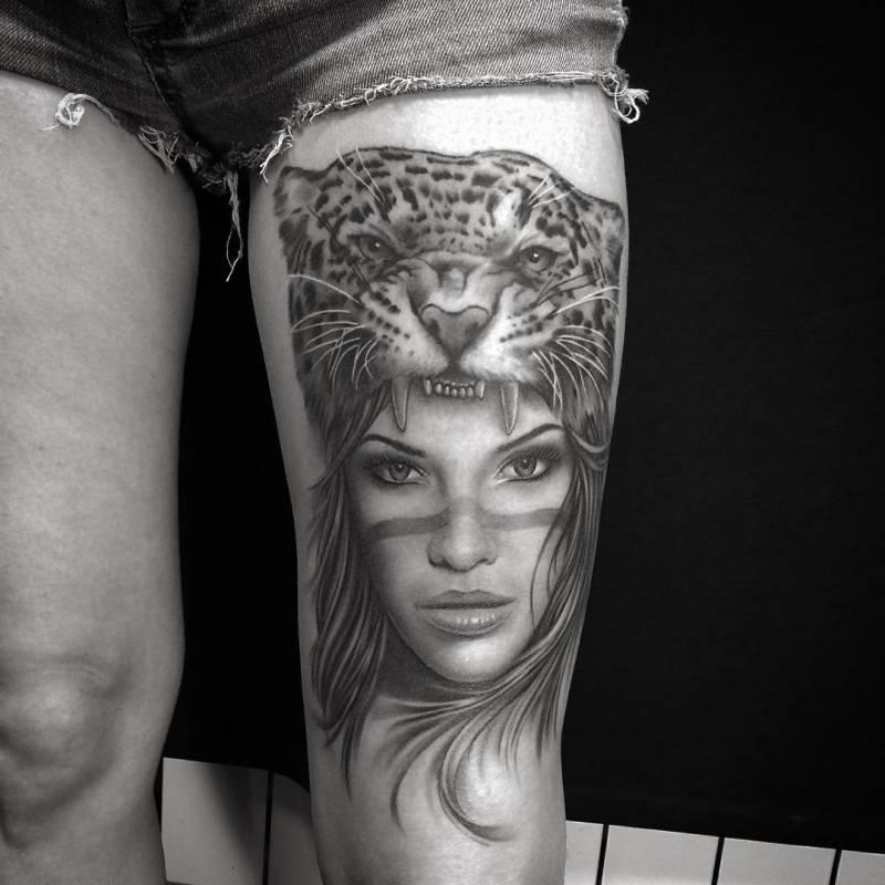 Tatuaje piernas