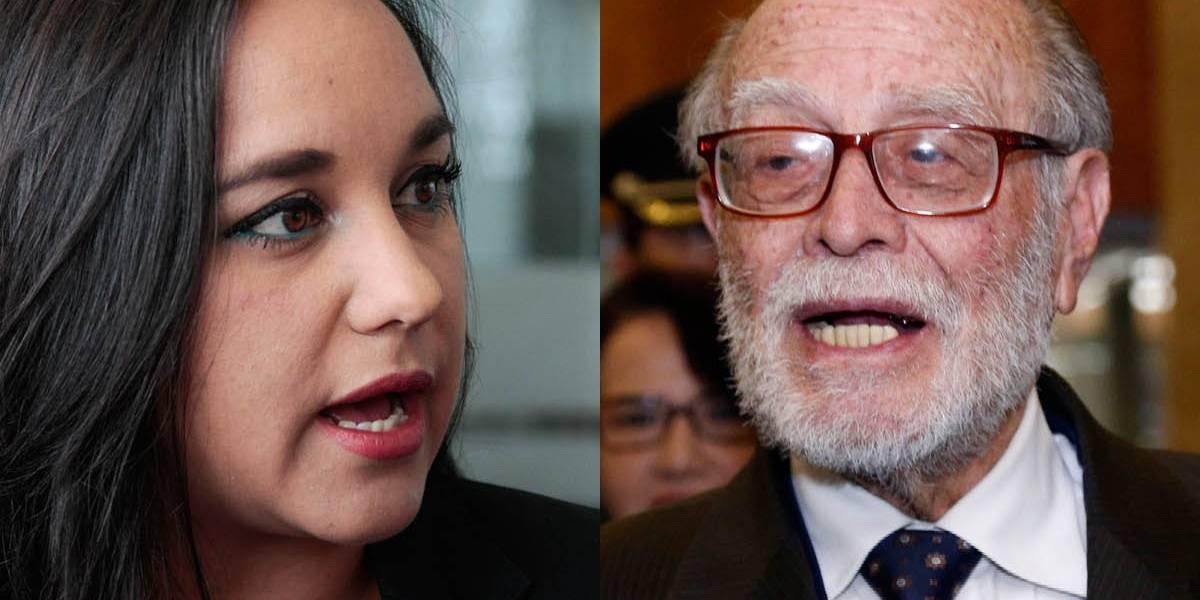 Gabriela Rivadeneira le responde a Julio César Trujillo