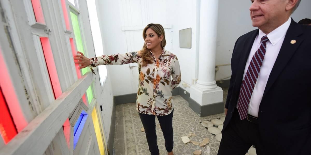 Primera Dama visita el Med Centro