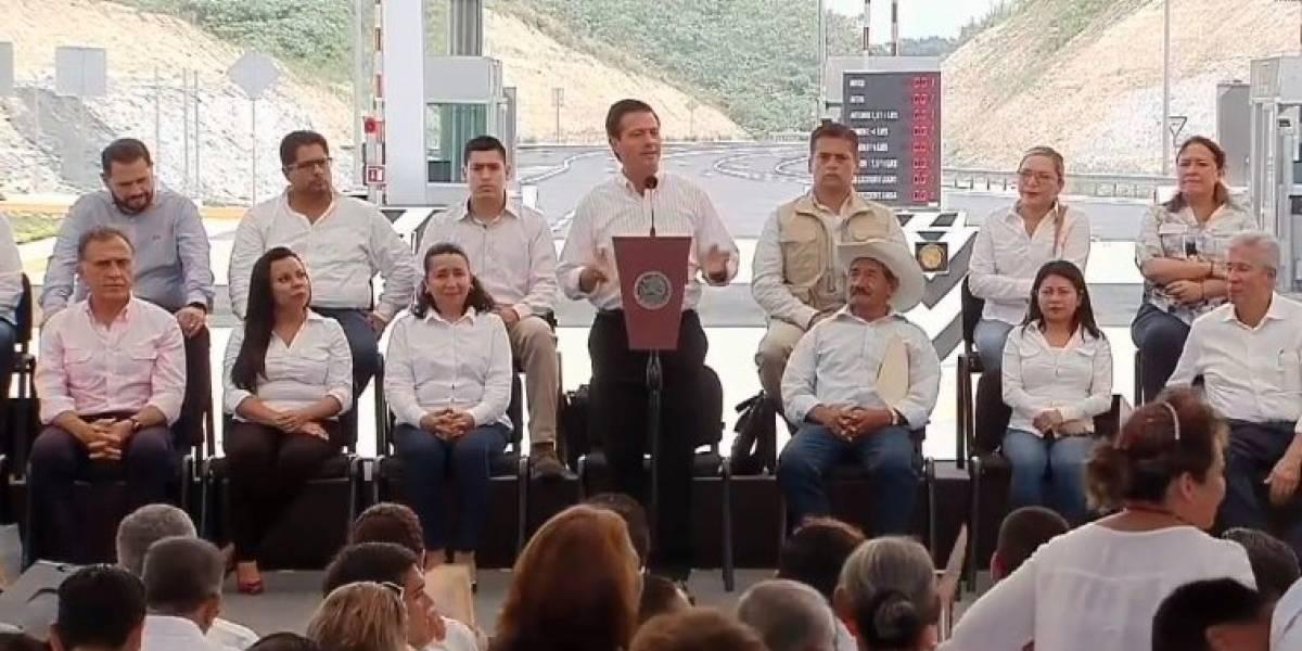Deseo que México siga este rumbo: Peña Nieto