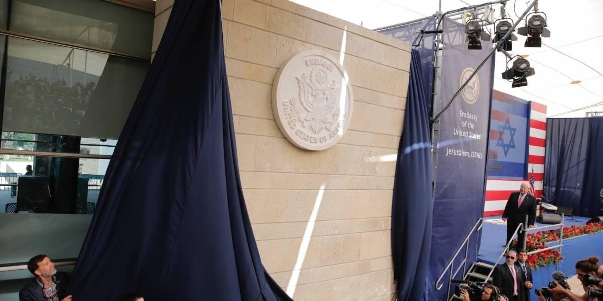 Trump celebra embajada en Jerusalén