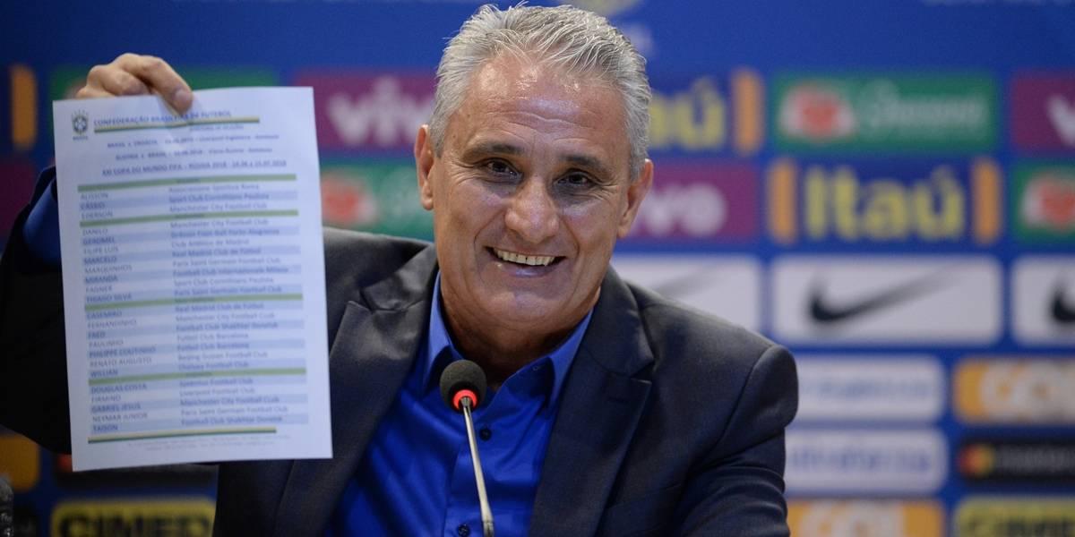 Copa da Rússia: veja lista dos convocados do técnico Tite