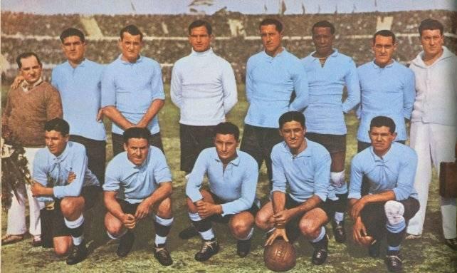 La selección uruguaya en 1930