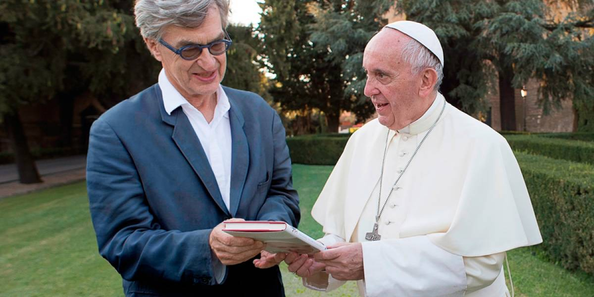 "VIDEO. Wim Wenders hace un ""close-up"" al papa Francisco"